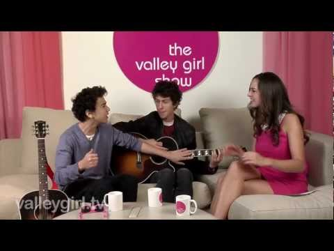 """Nat & Alex Wolff on """"Valley Girl Show"""" with Jesse Draper"""