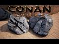Conan Exiles - Where do I find Iron and Coal?