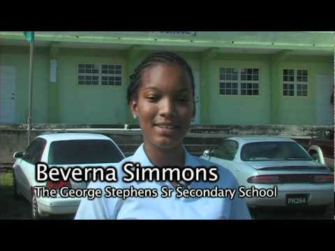 Miss George Stephens Sr. Secondary School - Beverna Simmons for Miss Heritage Pageant 2011promo