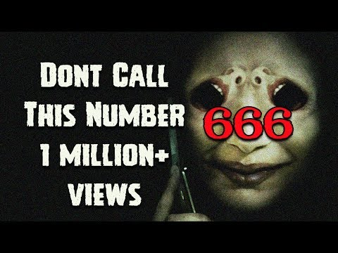 [हिन्दी] 5 Most Haunted Phone Numbers Of The World In Hindi | Ghost Mobile Number | 666 Number