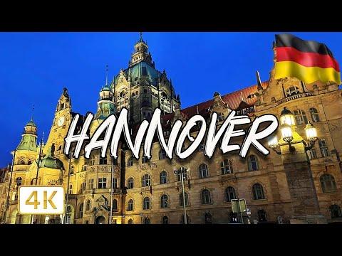 Hannover, GERMANY 🇩🇪 2021   Walking tour I 4K/60fps