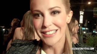 "Louise Linton: ""She Wants Me"" Premiere After Party Interview"
