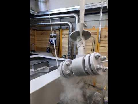 Cam Valves - Floating Ball Valve Cryogenic test at -196 °C