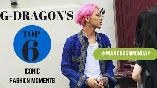 g dragons top 6 iconic fashion moments mancrushmonday