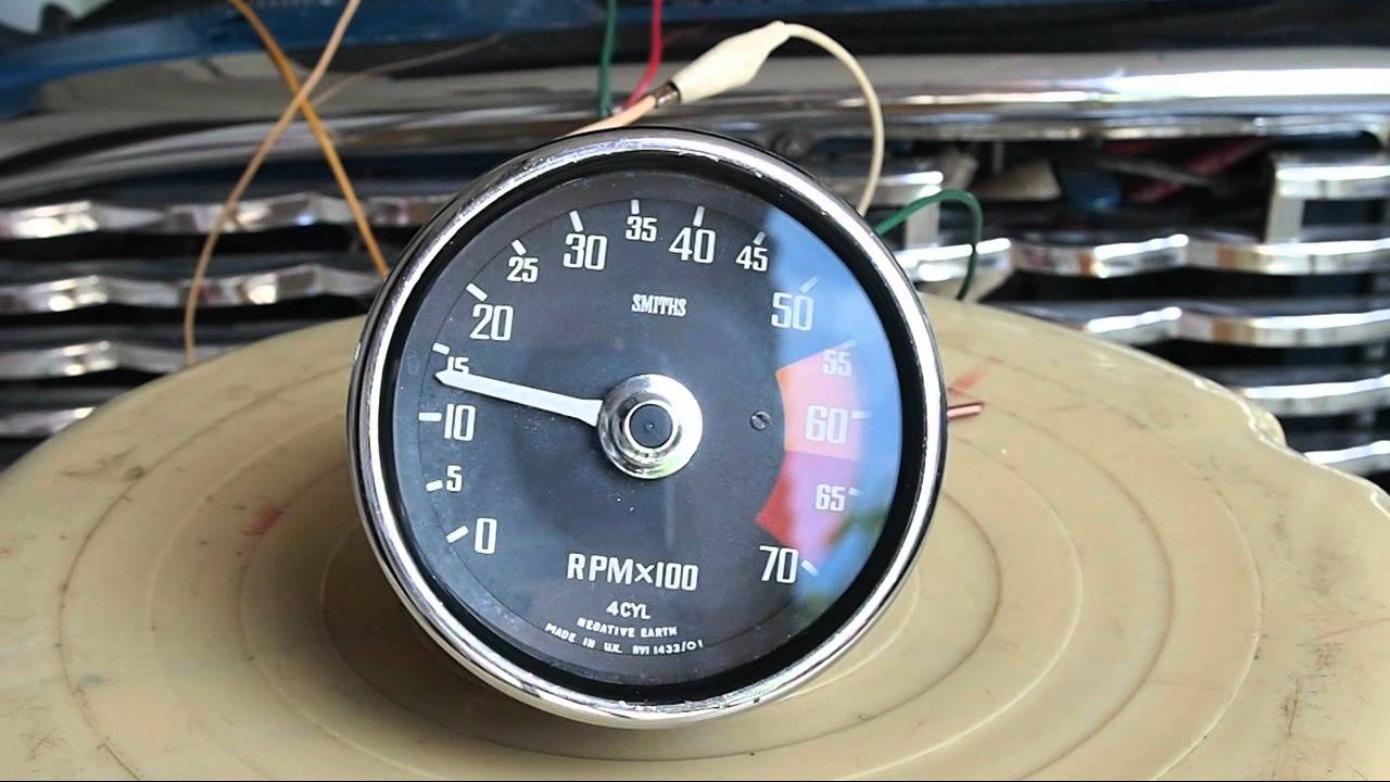 hight resolution of smiths tachometer