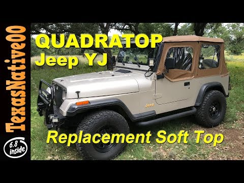 QuadraTop Replacement Jeep YJ Top Review