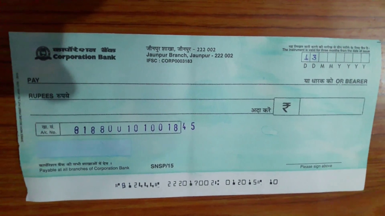writing a cheque hsbc