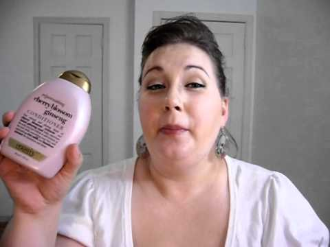 cherry blossom ginseng shampoo conditioner review youtube