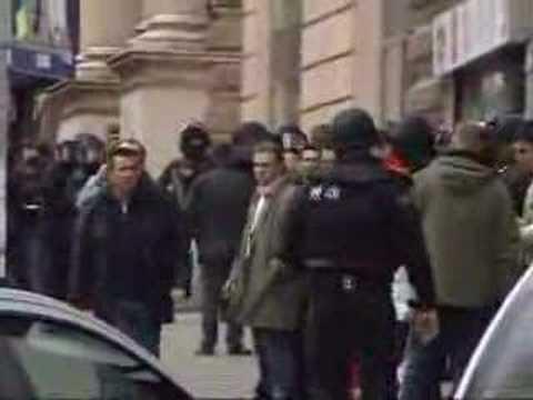 Vienna city centre bank robbery / wien bank überfall