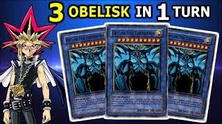 Yu-Gi-Oh! 3 OBELISK THE TORMENTOR IN 1 TURN | OBELISK THE TORMENTOR DECK