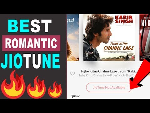 how-to-set-tumhe-kitna-chahne-lage-ham-as-jio-tune-|-best-romantic-jio-tune-|-101%working