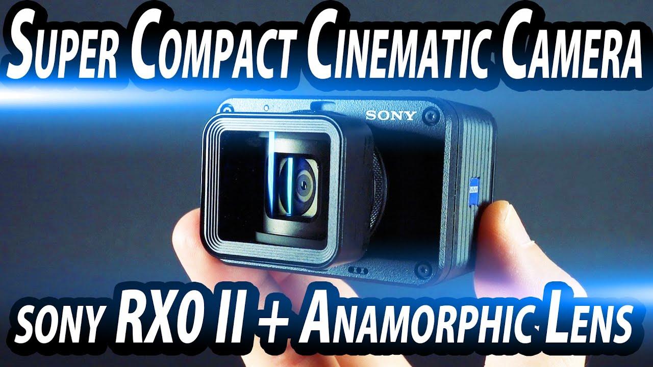 Super Compact Cinematic Camera!! RX0 II x Anamorphic Lens