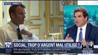Propos de Macron sur les aides sociales: