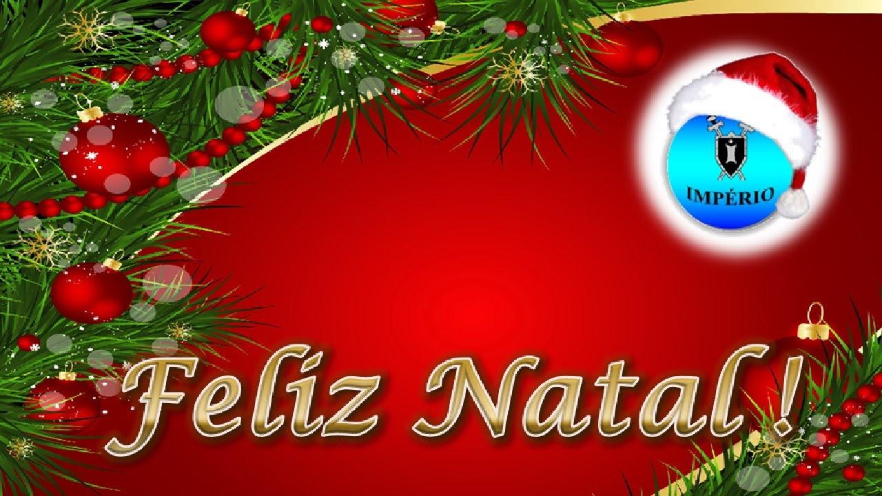 Feliz natal e ano novo boas festas youtube for Mural de natal 4 ano