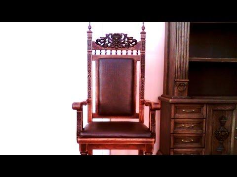 Стандартные размеры: кресла, стула, табуретки.