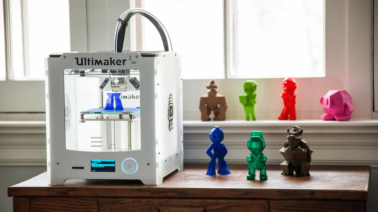 Ultimaker 2 Go: The Mighty Mini 3D Printer - 3D Printing Promo