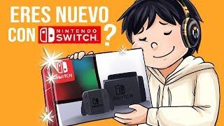 ¿Eres nuevo con una Nintendo Switch? Cosas que tienes que hacer con ella 😏