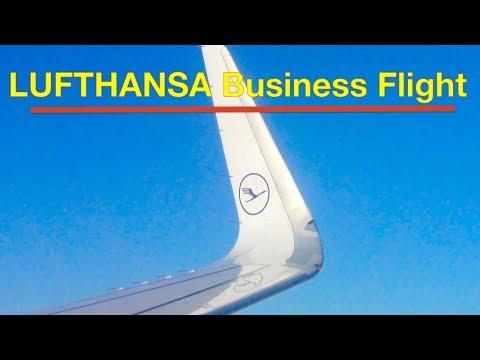LUFTHANSA VIP | Business Class | Sitze | Essen | Service | Waschräume | HON Chauffeur | Flug Report