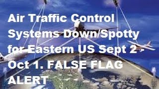 Air Traffic Collision Systems down Sept 2   Oct1