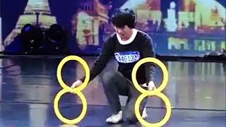 Шоу с кольцами, интересное видео