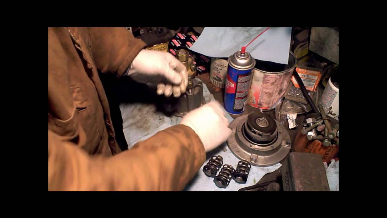 Giant Pressure Washer Pump Rebuild Part 1 Of 3 Campbell