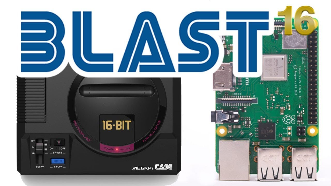 Build Your Own Genesis Mini With BLAST16! Everything You Need To Know  Tutorial!