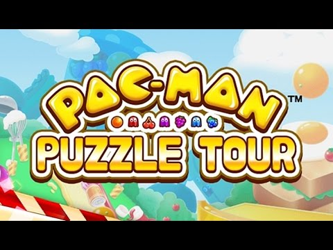 PAC-MAN Puzzle Tour - Android Gameplay HD