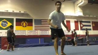 Patrick Cheat 720 is clean and FAIL Butterfly Kick