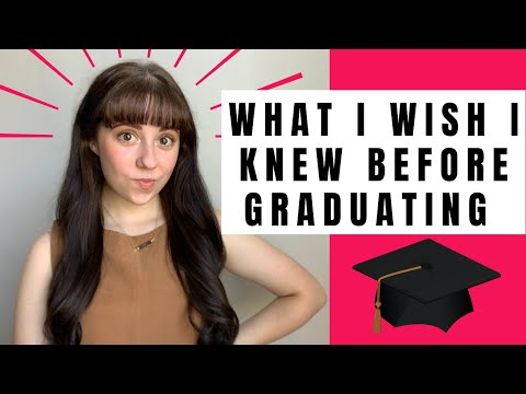 what-i-wish-i-knew-before-graduating-college!-post-grad-advice-on-rejection,-money,-and-much-more!