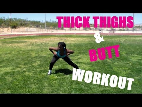 Thick Thighs and Butt Workout | Curvy and Fit