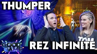 Thumper & Rez Infinite Review (PC, PS4, PSVR)