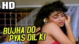 Bujha Do Pyas Dil Ki , Alisha Chinai , C.I.D. 1990 Songs , Juhi Chawla, Kiran Kumar