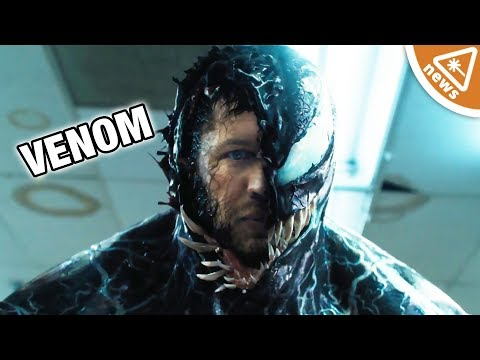 Why the New Venom Trailer Has Fans Completely Confused! (Nerdist News w/ Jessica Chobot)