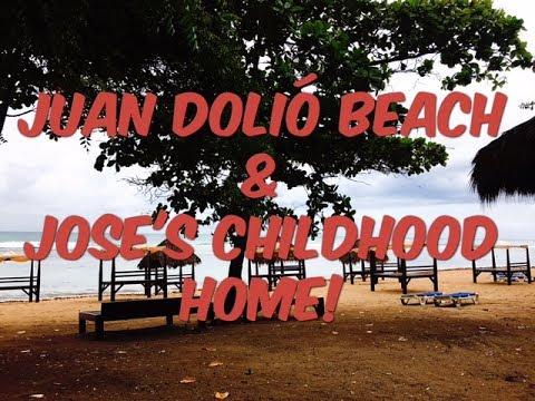 Juan Dolio Beach & Jose's Home!- NO BLUE OCEAN???