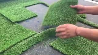 artificial turf lawn grass carpet oscillating knife cutting machine