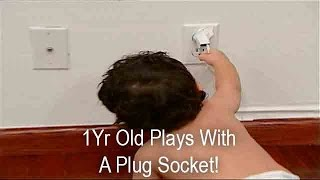 Baby Plays With A Plug Socket! | Supernanny