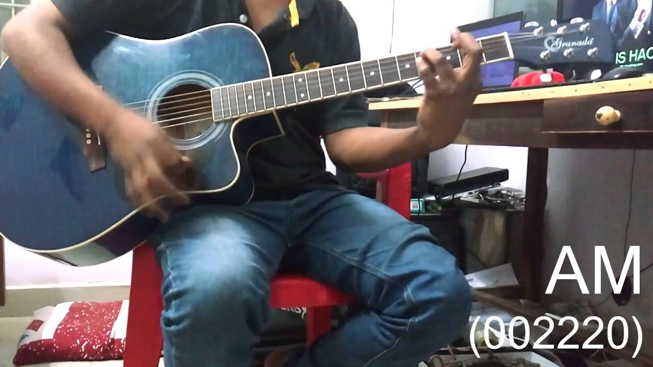 Guitar Chords Tutorial Darshan Raval Mera Dil Dil Dil Youtube