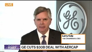 Sale of Jet-Leasing Unit Makes GE Stronger, CEO Culp Says