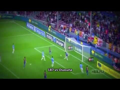 Lionel Messi   All 301 Goals in FC Barcelona