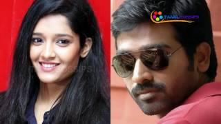 I Learnt Tamil from Vijaysethupathi-Rithika Singh Open Talk