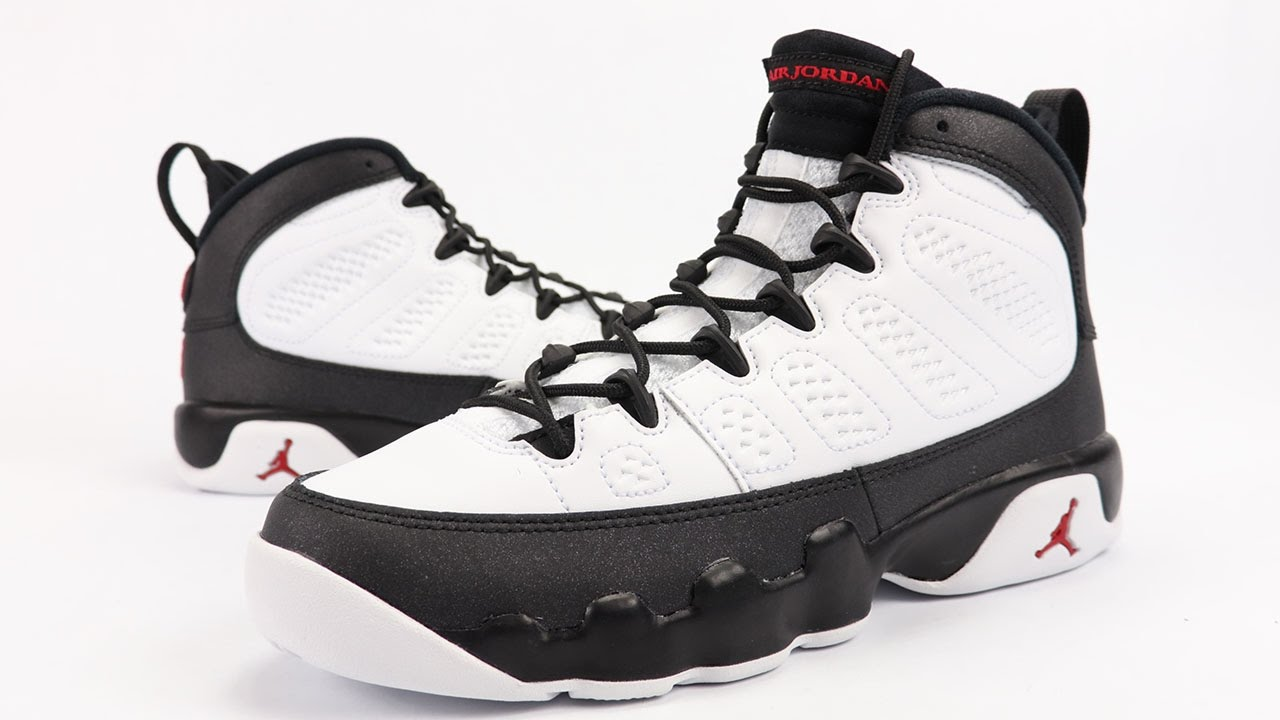 the best attitude baeae 2657e Air Jordan 9 OG Space Jam White Black Red 2016 Review