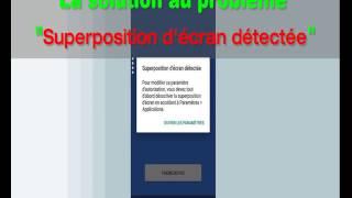 Comment désactiver la superposition d'écran