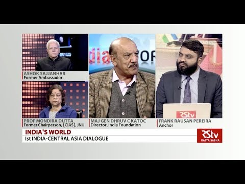 India's World - 1st India-Central Asia Dialogue