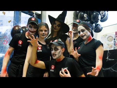 ХЭЛЛОУИН в Суши Весла | Кошмарная вечеринка Halloweenиз YouTube · С высокой четкостью · Длительность: 1 мин59 с  · Просмотров: 127 · отправлено: 02.11.2017 · кем отправлено: Суши Весла