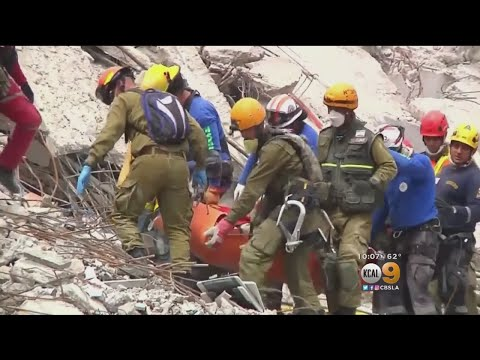 Officials: No Missing Kids  In Collapsed Mexico City School