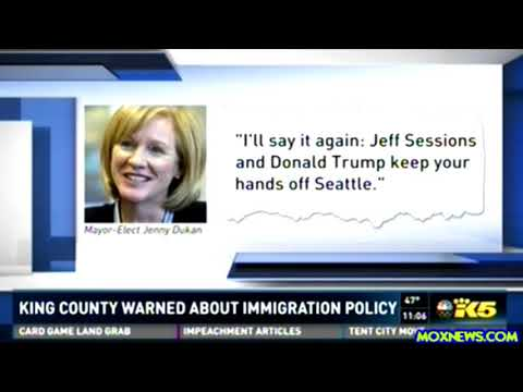"""Department Of Justice Sends WARNING Letter To 29 """"Sanctuary Cities"""" Including Seattle"""