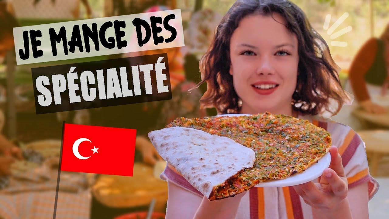 JE MANGE (et cuisine) DES SPÉCIALITÉS TURQUES - Claire