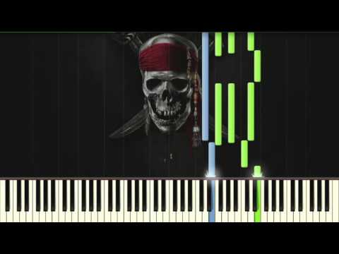 Pirates Of The Caribbean - MEDLEY [Kyle Landry] - Piano Tutorial (Synthesia)