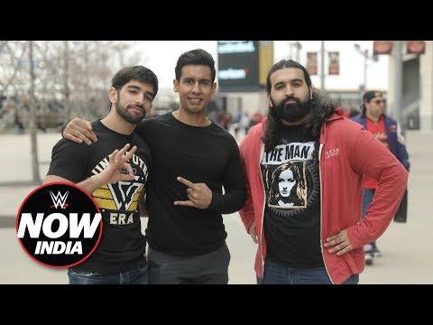 India represents at WrestleMania 35: WWE Now India