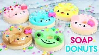 how to make diy kawaii animal donut soaps